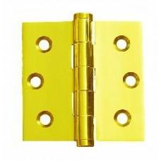 2inch x 2inch x 1.8mm Solid Brass Bright Brass Finish Door Hinge
