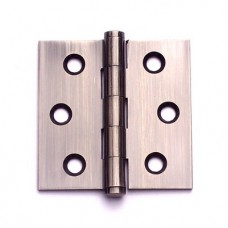 2inch x 2inch x 1.8mm Residential Solid Brass Antique Brass Finish Door Hinge