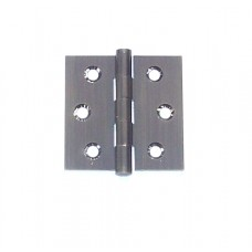 2 x 2 x 1.8mm Residential Dark Oil Rubbed Bronze Finish Square Corner Solid Brass Hinge