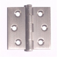 "2""x 2"" x 1.8mm Residential Satin NIckel Finish Solid Brass Door Hinge"