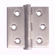 "2""x 2"" x 1.8mm Residential Satin NIckel Finish Solid Brass Door Hinge"