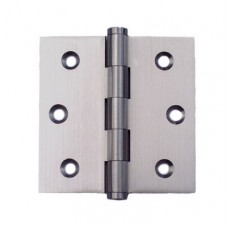 2.5inch x 2.5inch x 2.0mm Residential Solid Brass Satin Nickel Finish Door Hinge