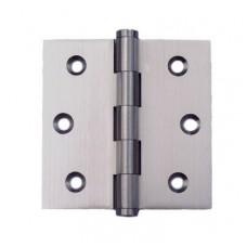 2.5inch x 2.5inch x 2.0mm Residential Solid Brass Satin Nickel Finish Door Hinge
