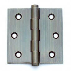 3inchx3inchx2.0mm Solid Brass Antique Brass Door Hinge
