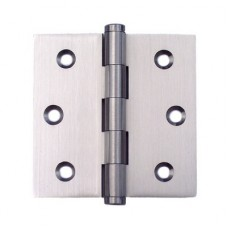 3inchx3inchx2.0mm Solid Brass Satin Nickel Finish Door Hinge