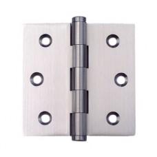 3inchx3inchx2.0mm Solid Brass Satin Nickel Finish Door Hinge