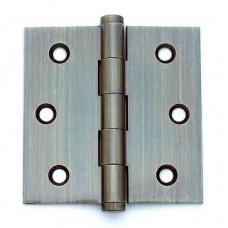 3.5inch x 3.5 inch x 2.0mm  Residential Solid Brass Door Hinge