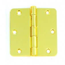 "3.5"" x 3.5""x2.2mm Residential Lifetime Finish Steel Hinges"