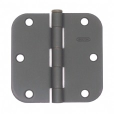 """3.5"""" x 3.5""""x2.2mm Residential Steel Hinge"""