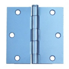 "3.5"" x 3.5""x2.2mm Steel Hinge Zinc Finish US2G"