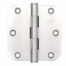 "3.5""x3.5""x2.5mm 5/8"" Radius Heavy Duty Brush Nickel HInges"