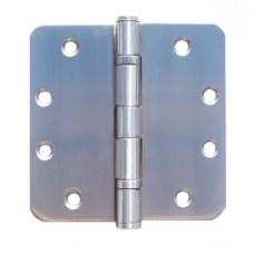 """4.5""""x4.5""""x3.0mm 5/8"""" Radius HEavy Dury 2 Ball Bearing Stainless Steel Hinges"""
