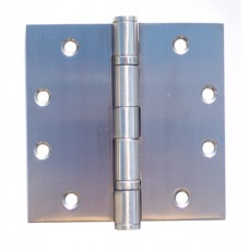 """4.5""""x4.5""""x3.0mm Square Corner Heavy Duty 2 Ball Bearing Stainless Steel Hinges"""