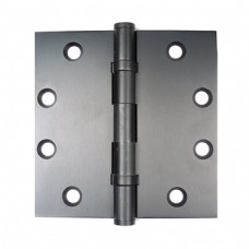 4.5inch x 4.5inch x 2.5mm  Dark Oil Rubbed Bronze Finish Solid Brass Hinges