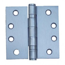 4.5inch x 4.5inch x 3.4mm Satin Nickel Finish Steel Hinges