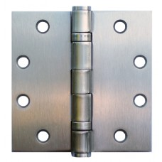 4.5inch x 4.5inch x 3.4mm  Satin Chrome Finish  Steel Door Hinge