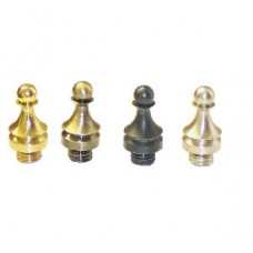 "Solid Brass Hinge Tip for 4"" or 4.5"" Solid Brass Hinges in Satin Nickel Finish"