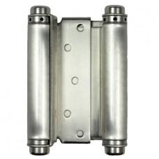 5 Inch Double spring Steel Hinge In Satin Nickel Finish