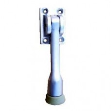 "4"" Projection Zinc Cast Door Stopper Satin Nickel Finish"